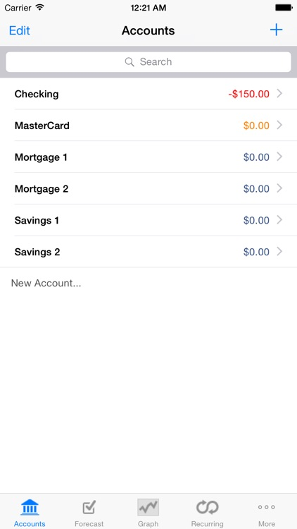 Cashflows screenshot-4