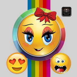 Emo Emoji - add emoticon stickers on photo, make funny picture and share