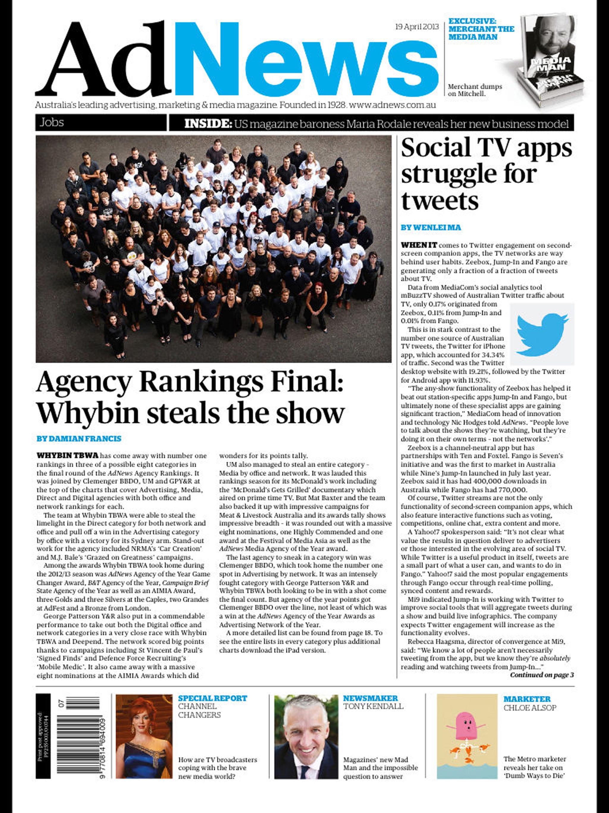 "Ad News Magazine ""June"" hack"