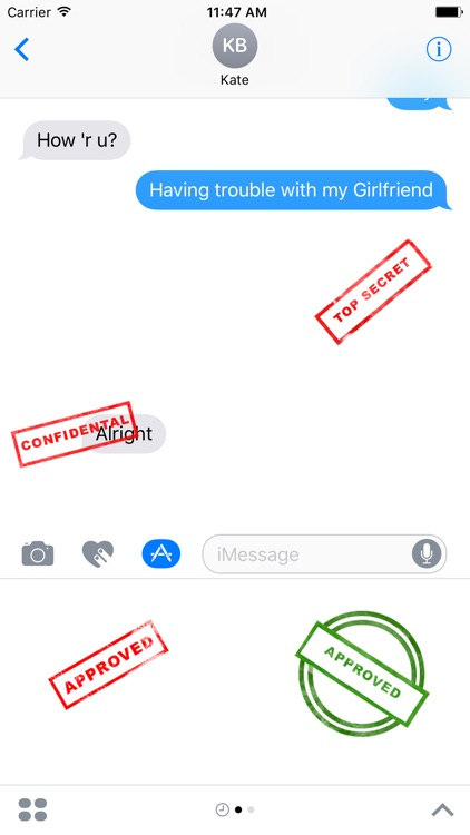 Stamps for iMessage