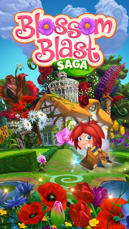 Blossom Blast Saga screenshot-4