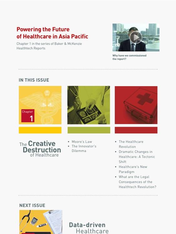 Baker & McKenzie HealthTech Report