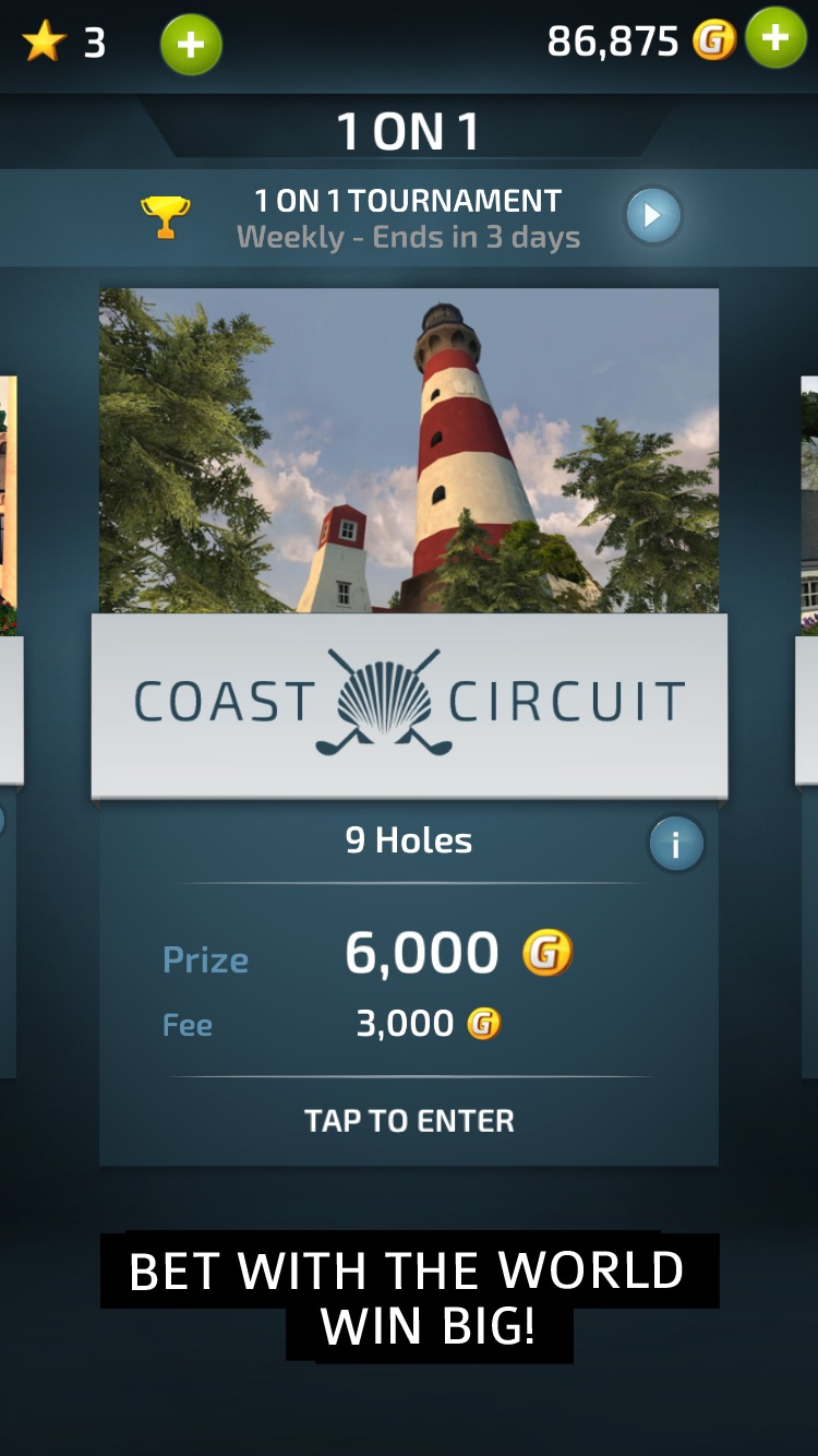 Pro Feel Golf Screenshot
