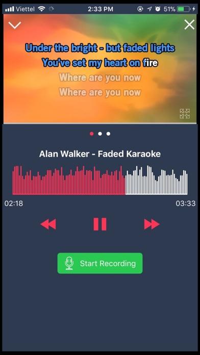 Screen Shot Karaoke 2018 - Sing & Record 0