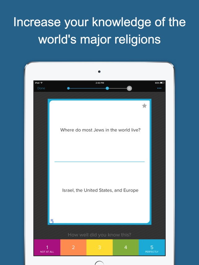 Learn About Religions On The App Store - 3 major religions
