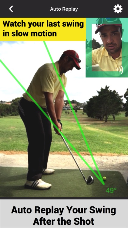 Swing Profile Golf Analyzer screenshot-1