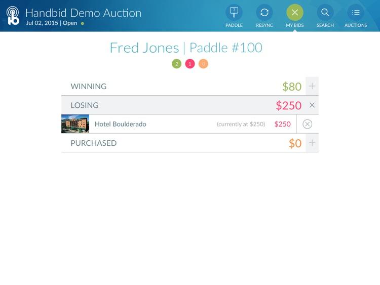 Handbid for iPad screenshot-4