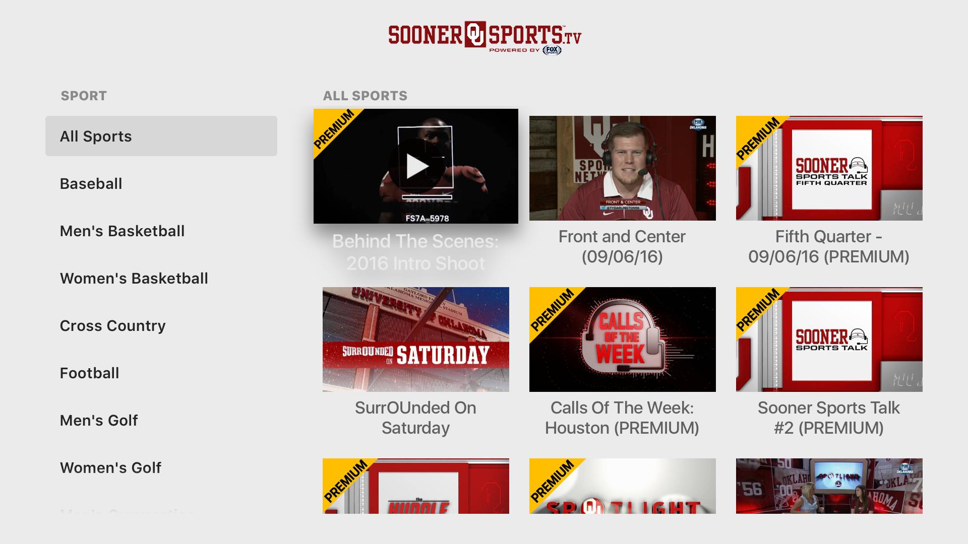 SoonerSports2Go screenshot 12
