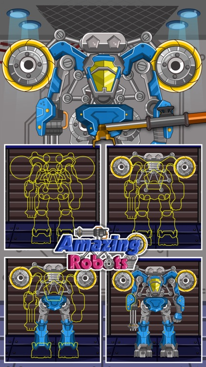 Amazing Robots - A puzzle game for kids