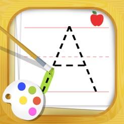 alphabet tracing free 4