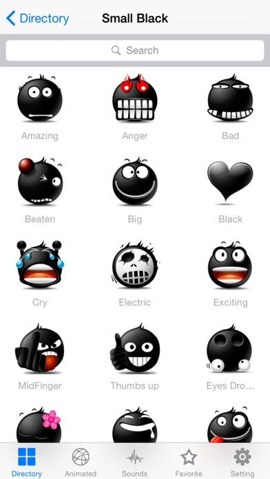 New Emojis & Smileys animated text icons emoticons-0