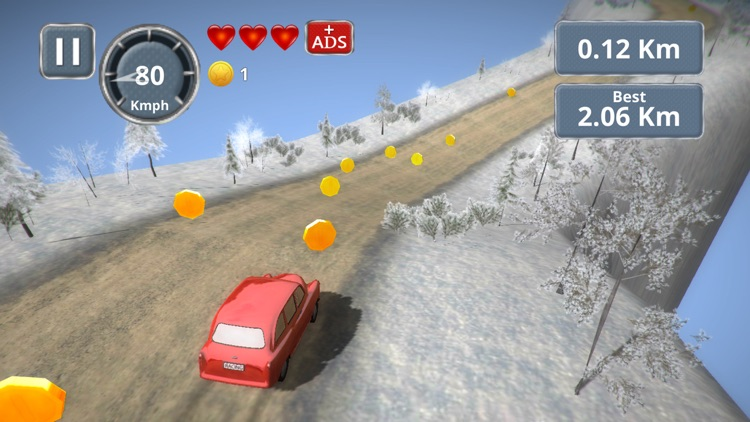 Mini Retro Racing 3D screenshot-4