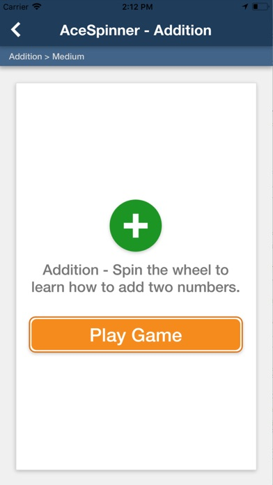 Ace Spinner Math Games Lite screenshot 4