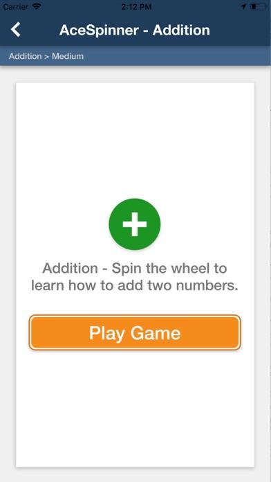 Ace Spinner Math Games Lite screenshot 4