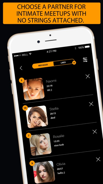 Dating hub -flirt and meet free singles online app screenshot-3