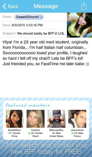 Skype singles chat