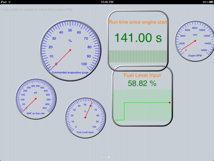 Engine Link HD -OBD II vehicle monitor & diagnosis screenshot-2