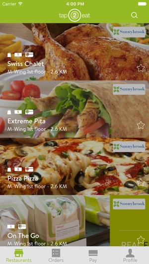 tap2eat on the app store