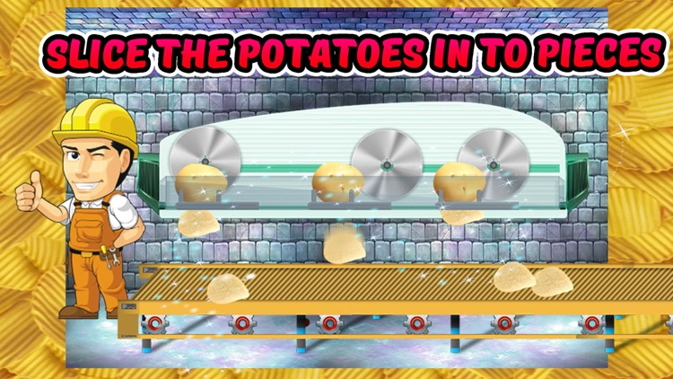 Potato Chips Factory – Bake snacks in this food cooking game for little chef screenshot-3