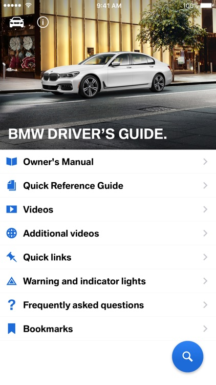 BMW Driver's Guide screenshot-0