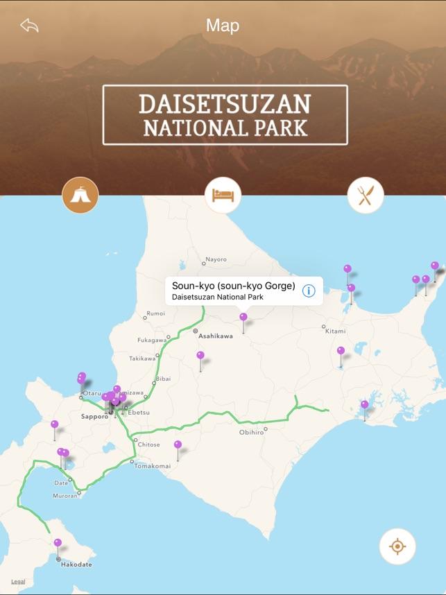 Daisetsuzan National Park Tourism Guide on