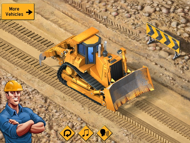 Kids Vehicles: Construction HD for the iPad screenshot-0