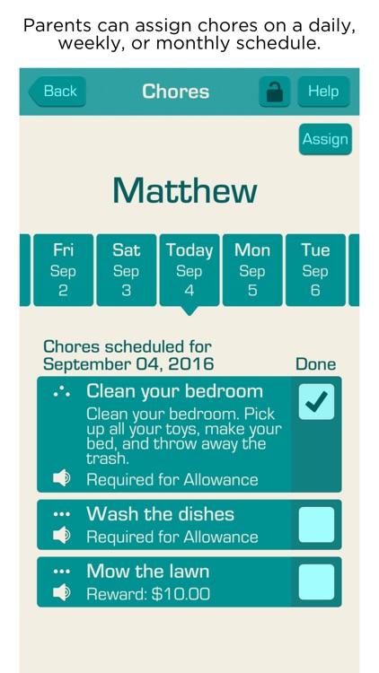 Allowance & Chores Bot screenshot-3