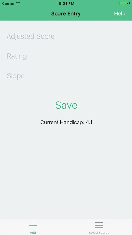 Golf Handicap Tracker - Track Unlimited Rounds