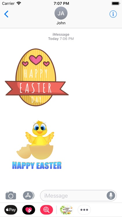 Easter Day Stickers 2018 screenshot-3
