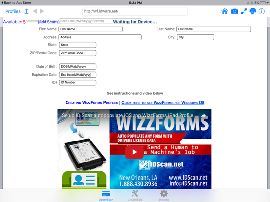 WizzForms―Auto-populate forms by Abycus (iOS, United States
