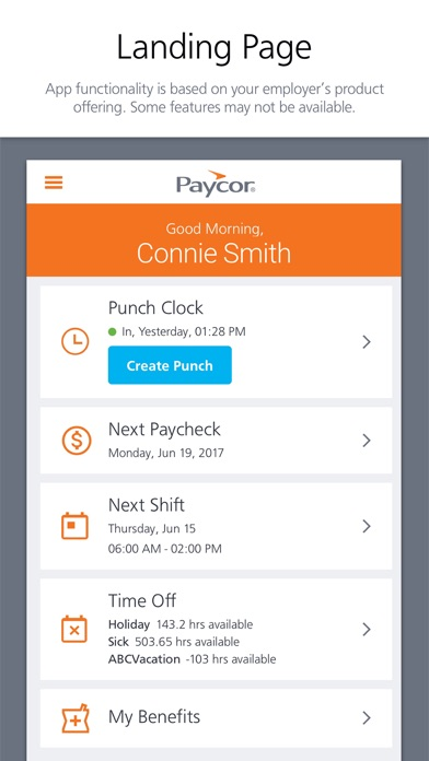 Paycor Mobile for Windows