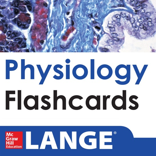 Physiology Lange Flash Cards