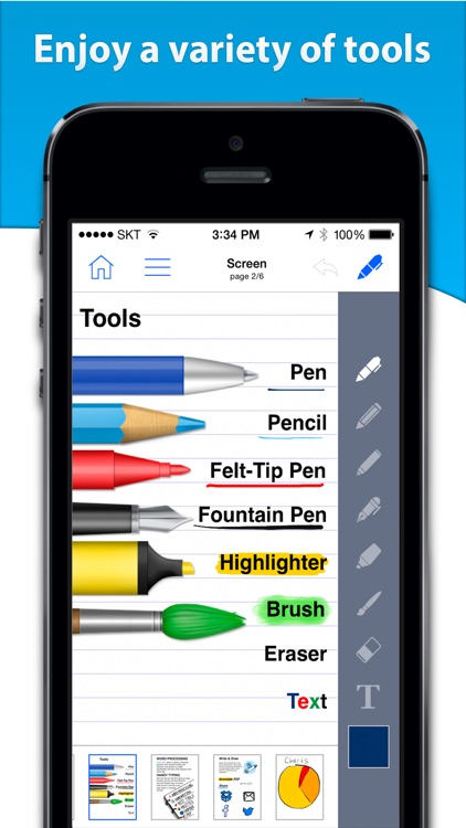 Notes HD for iPhone - Notes, PDF, Drawing screenshot-3