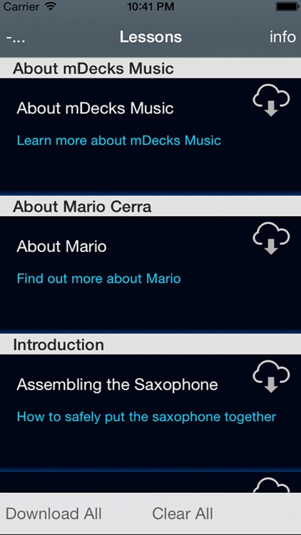 How to Play Saxophone by Mario Cerra screenshot-4