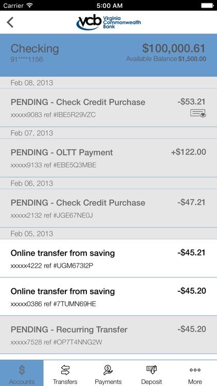 VCB Mobile Banking screenshot-3