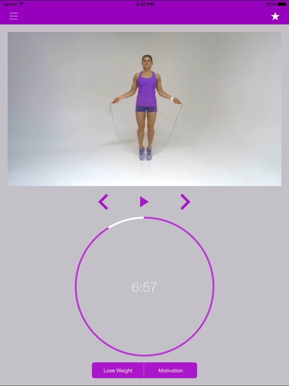 Screenshot #6 pour Corde à Sauter Exercices et Entraînement Routine