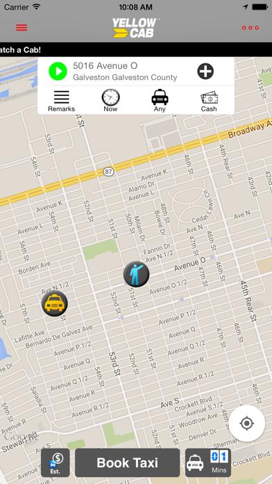 Hailacab Galveston screenshot one