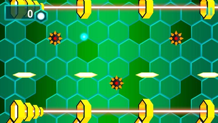 Bouncing Ball Attack Orange Killer Bee Hive Game screenshot-3