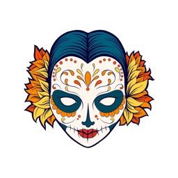 Halloween & Los Muertos Day: Sugar Skull Pack 2