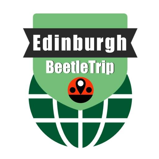 Edinburgh travel guide and offline city map, Beetletrip Augmented Reality Scotland Metro Train and Walks