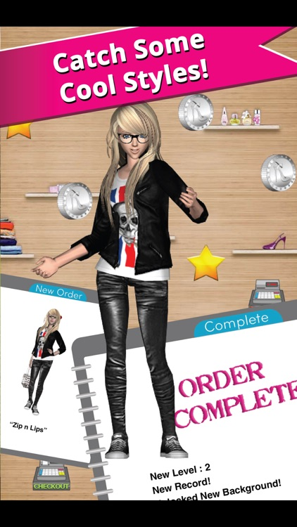 Style Me Girl - Free 3D Fashion Dressup screenshot-2