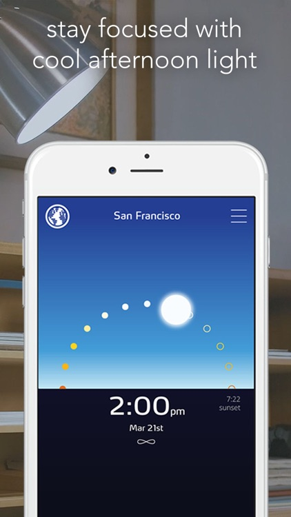 Sunn - Circadian Lighting for Philips Hue screenshot-1