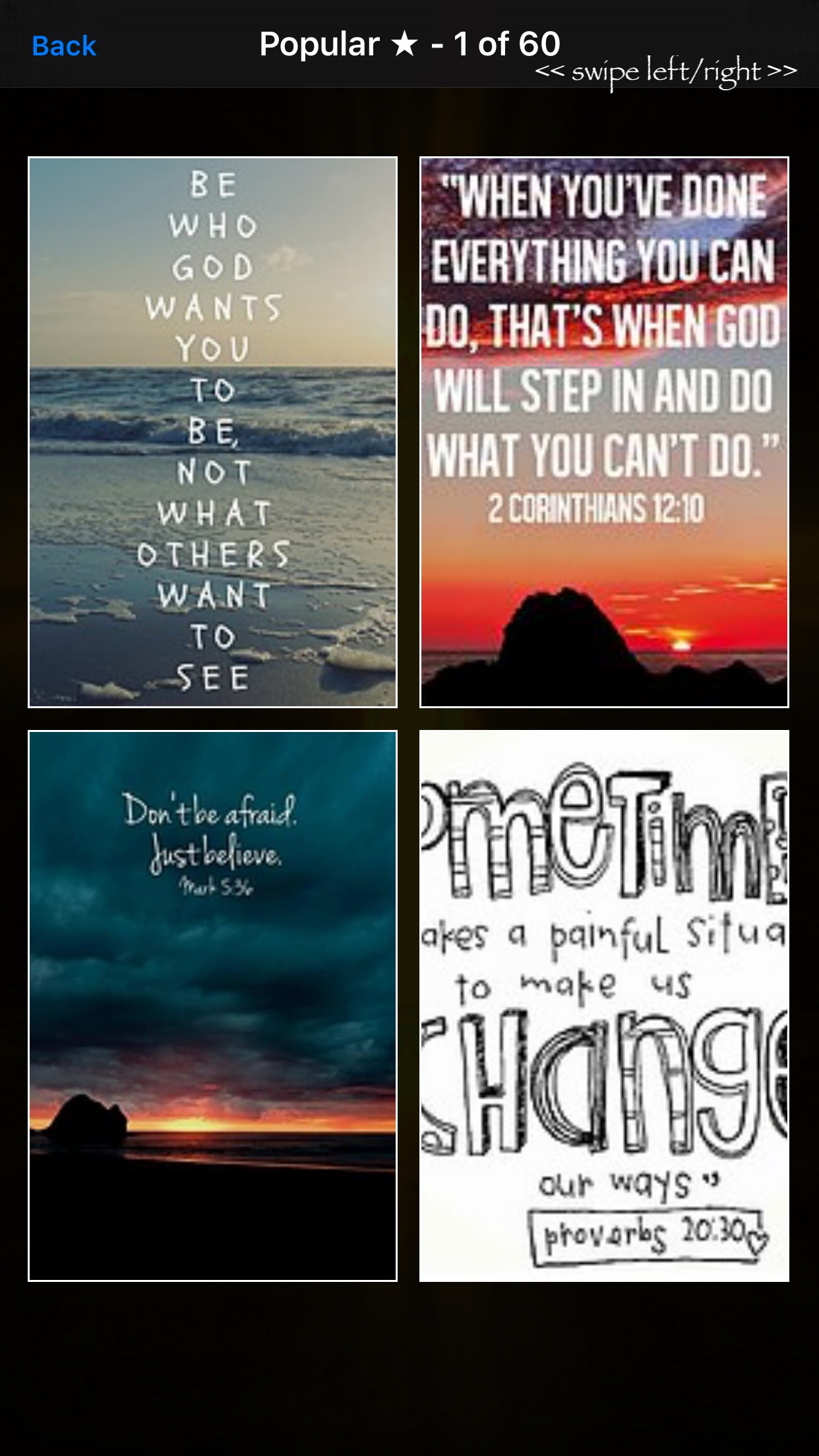 Bible Verses: Daily Devotional Wallpapers & Quotes Screenshot