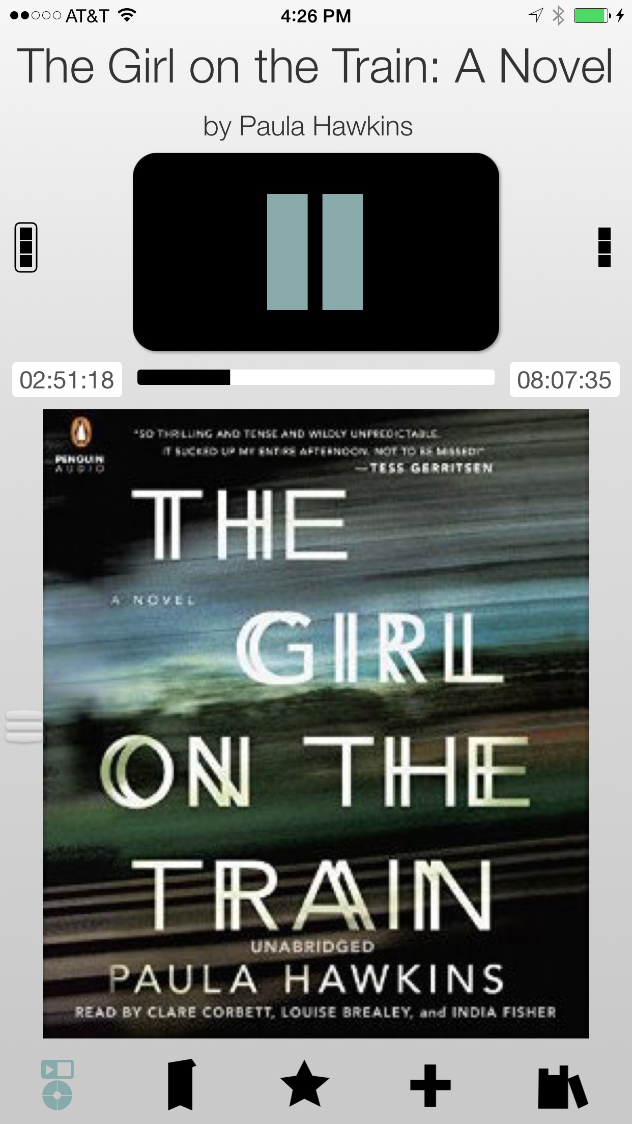 Bookmobile Audiobook and Podcast Player Screenshot