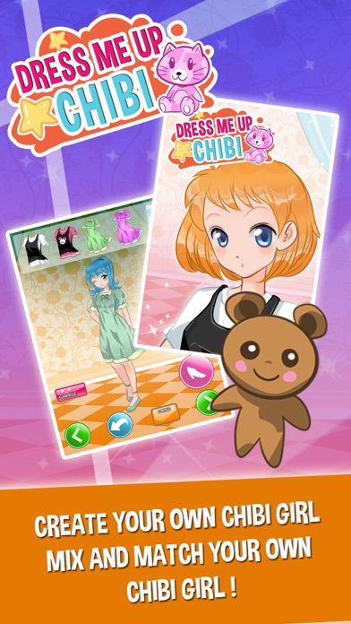 Chibi Princess Anime Fun Dress Up Games for Girls