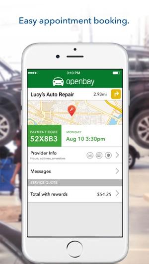 openbay book car repair on the app store rh itunes apple com