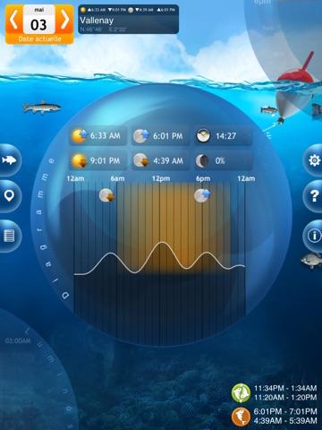 Screenshot #5 pour Pêche Deluxe – Calendrier et Meilleures Heures de Pêche