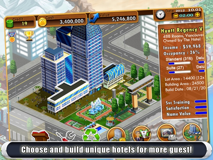 Hotel Tycoon2 HD screenshot-3