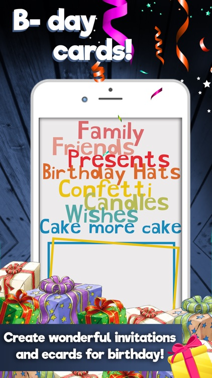 Happy Birthday Cards Maker Create Best Free ECards And Invitations