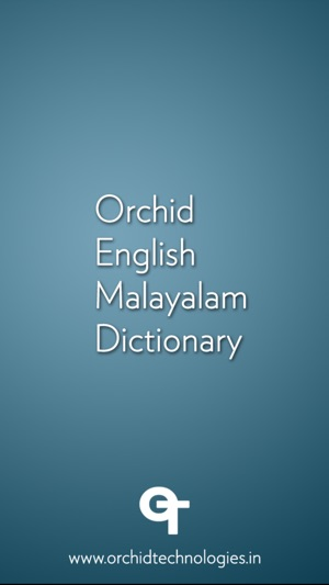Bilingual Malayalam Dictionary On The App Store